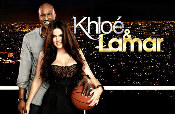 Khlo Kardashian and Lamar Odom