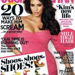 Kim Kardashian - Cosmopolitan UK May 2012