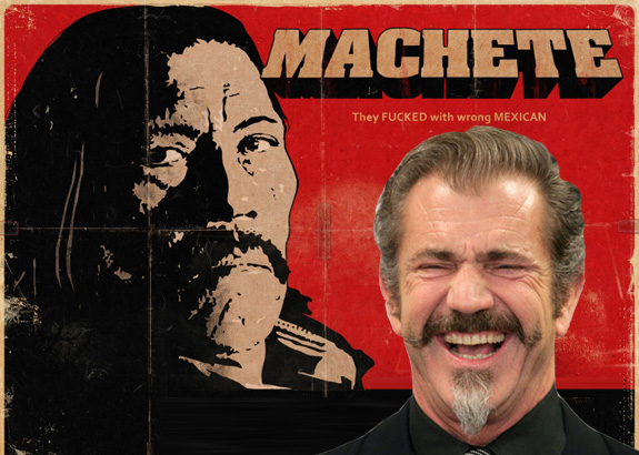 Mel Gibson to star in 'Machete Kills'?