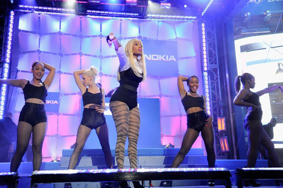 Nicki Minaj for Nokia
