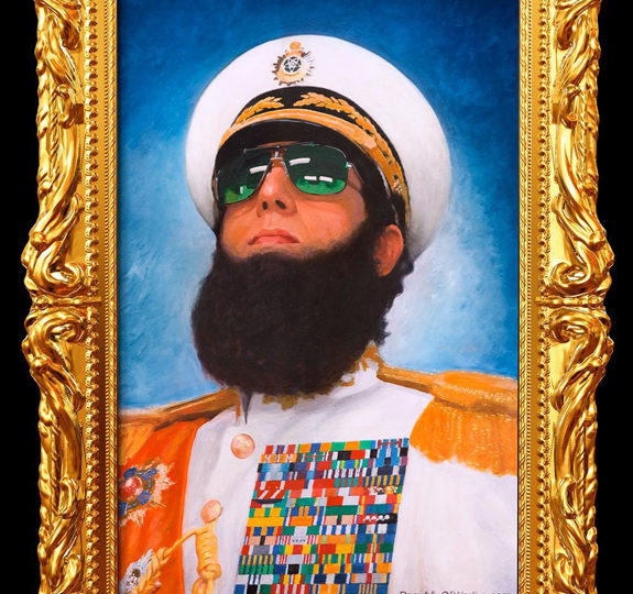The opening scene of Sacha Baron Cohen's 'The Dictator'