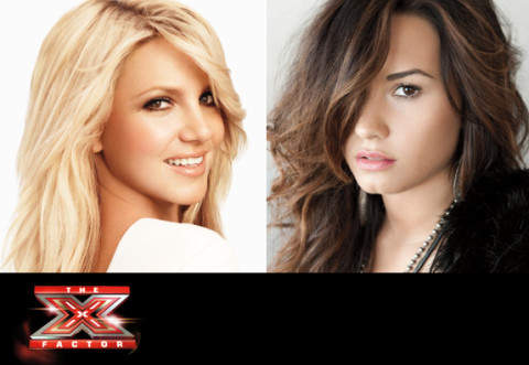 Britney Spears and Demi Lovato