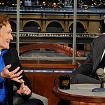 Conan O'Brien and David Letterman