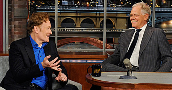 Conan O'Brien and David Letterman mock Jay Leno