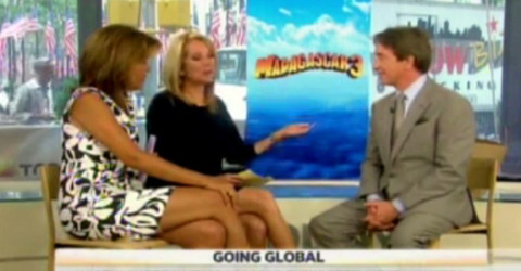 Kathie Lee Gifford and Martin Short