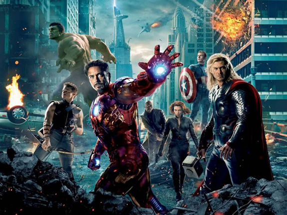 'The Avengers' made all the money!