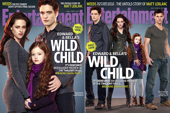 Breaking Dawn Part 2's wild child Renesmee