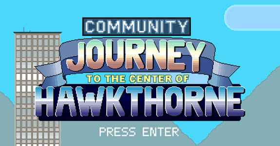 'Community' got its own 8-bit video game