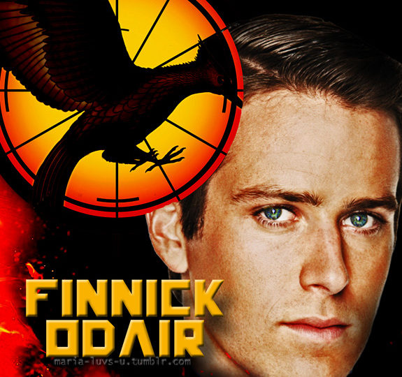 Who will play Finnick Odair?