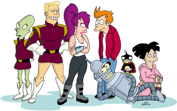 Futurama's live action opening sequence!