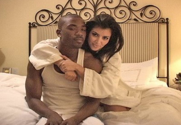 Kim Kardashian and Ray J