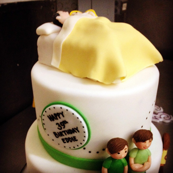 LeAnn Rimes' birthday cake for Eddie Cibrian