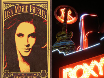 Giveaway: Tickets! Lisa Marie Presley at The Roxy!