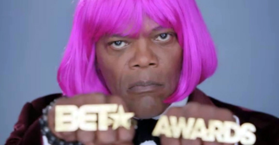 Samuel L. Jackson covers Nicki Minaj!