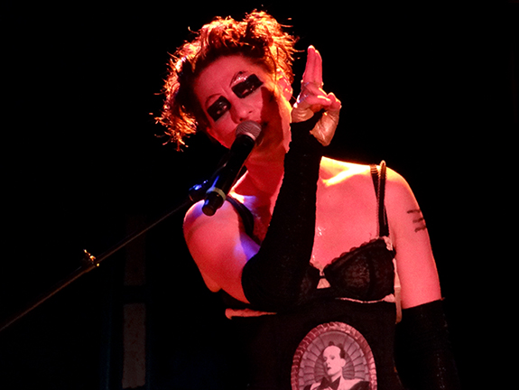 Amanda Palmer killed it at The Roxy