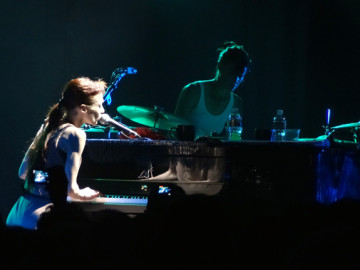 Fiona Apple dazzled in Hollywood!