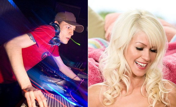Deadmau5 and Tricia Evans