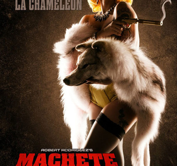 Machete Kills: Lady Gaga is La Chameleón
