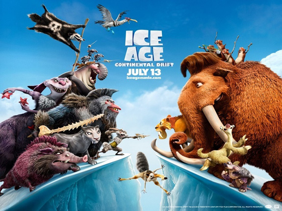 Box Office: 'Ice Age' floats on!
