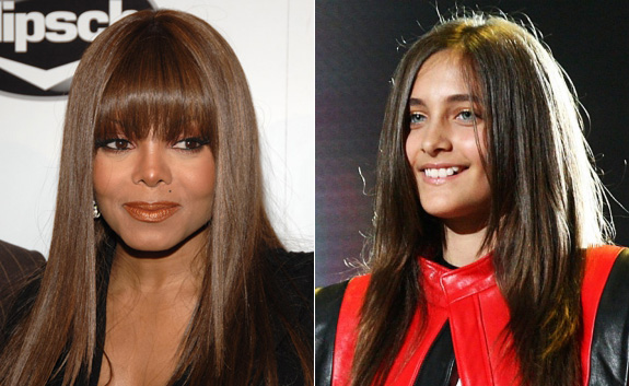 Janet Jackson and Paris Jackson