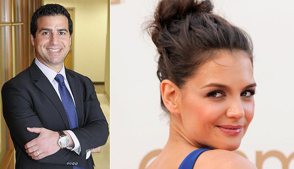 Revealed: Katie Holmes' mystery man!