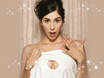 Sarah Silverman will scissor a bitch for Obama