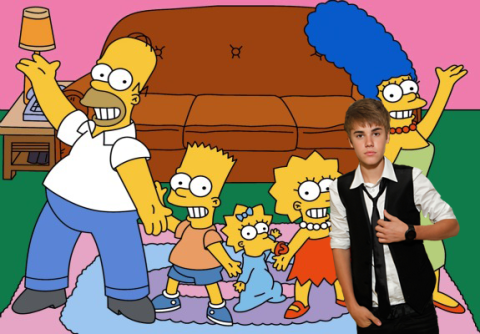 Justin Bieber - The Simpsons