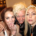 Lindsay Lohan and Lady Gaga