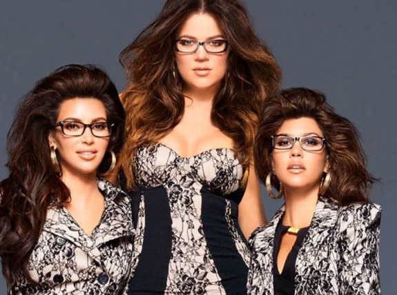 Kim, Khlo and Kourtney Kardashian