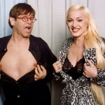 Madonna and Elton John