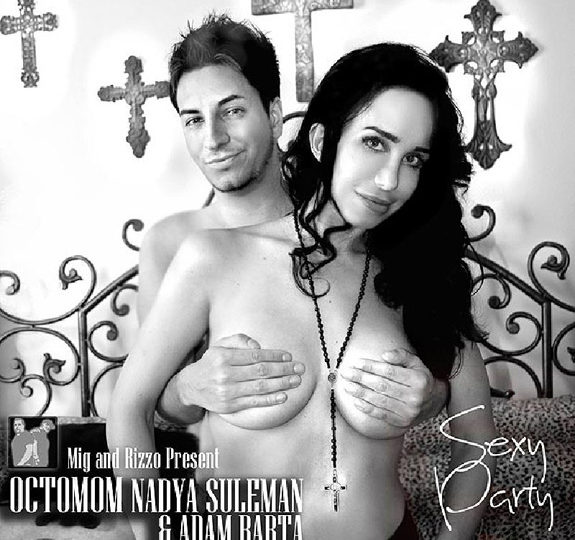 Octomom's topless cover art + charging $$$ for dates