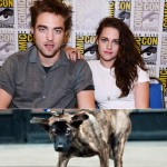 Robert Pattinson, Kristen Stewart and Bear