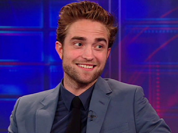 Robert Pattinson was on 'The Daily Show'