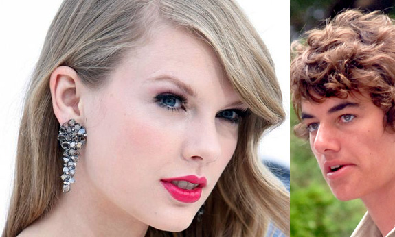 Taylor Swift was caught kissing Conor Kennedy