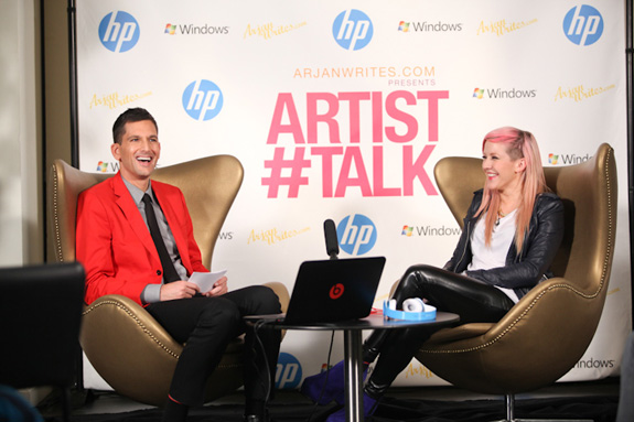 Ellie Goulding ARTIST#TALK with Arjan Writes!
