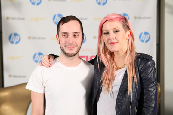 Bruce Russo Jr. and Ellie Goulding