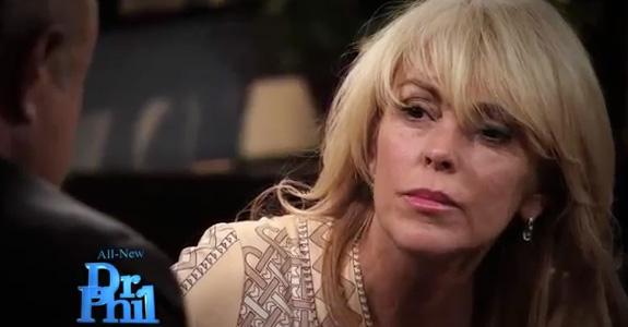 Was Dina Lohan drunk on Dr. Phil?