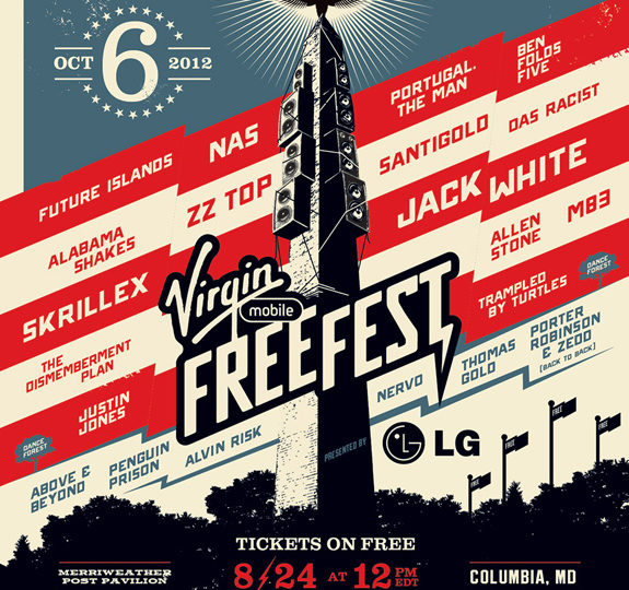 Win tickets to Virgin Mobile's FreeFest!