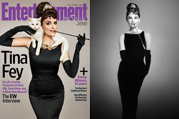 Tina Fey channels Holly Golightly for EW!