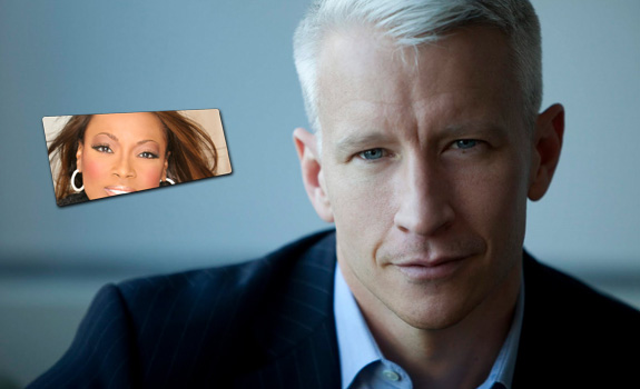 Anderson Cooper and Star Jones