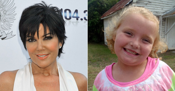 Kris Jenner and Alana 'Honey Boo Boo' Thompson