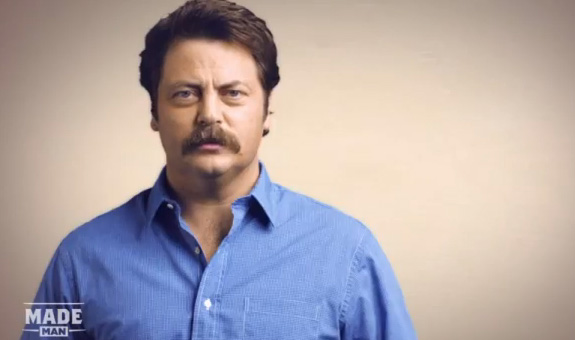Nick Offerman on growing your Movember Moustache