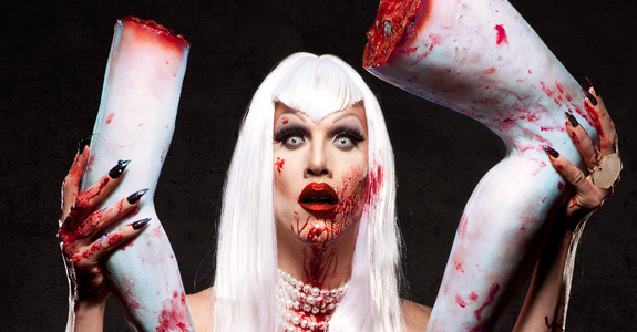 Sharon Needles for PETA!