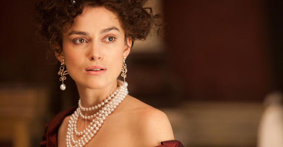 Keira Knightley as 'Anna Karenina'