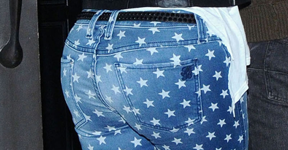 Guess who's wearing these jeans?