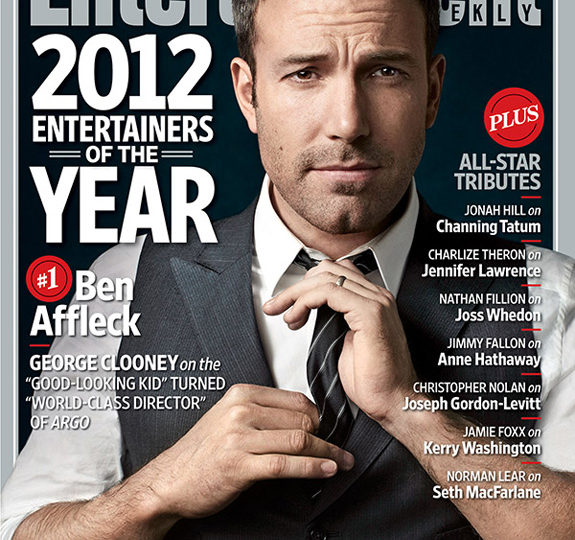 Ben Affleck: EW's Entertainer of the Year!