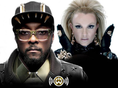 Will.I.Am and Britney Spears