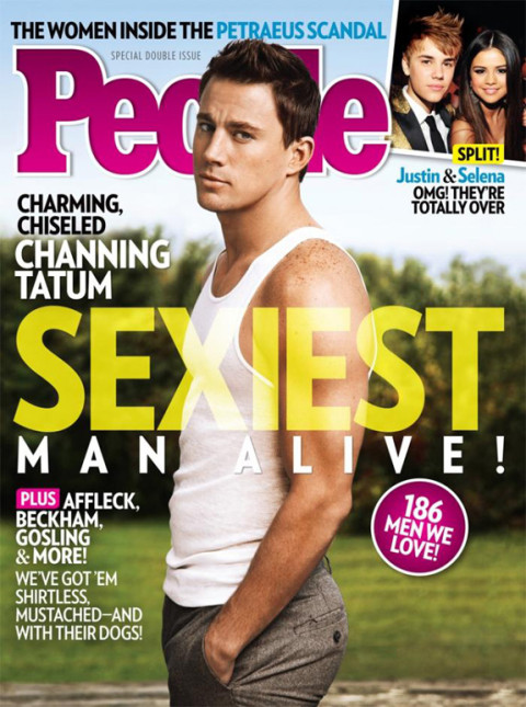 Channing Tatum is People Magazine's Sexiest Man Alive