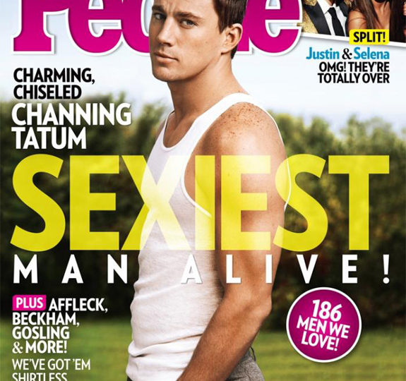Channing Tatum: People's Sexiest Man Alive