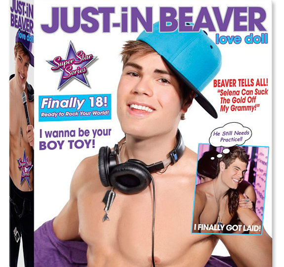 OH NO! There's a Justin Bieber sex doll?!